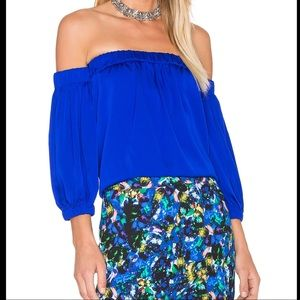 ⚡️HP⚡️ NWT MILLY off the shoulder blouse